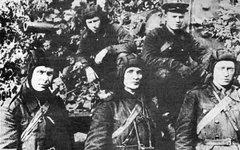 Экипаж КВ-1, август 1941. Фото Павел Васильевич Майский с сайта wikimedia.org