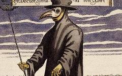 Чумной доктор.  Medico-Kunsthistorische Studie von Professor Dr. Eugen Holländer