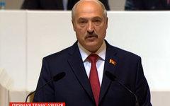 Александр Лукашенко. Стоп-кадр из телепередачи