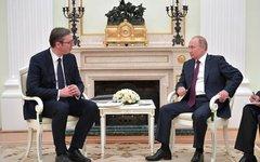 Встреча с Президентом Республики Сербии Александром Вучичем