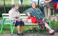 Пенсионерки © KM.RU, Илья Шабардин