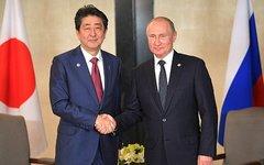Путин с премьер-министром Японии