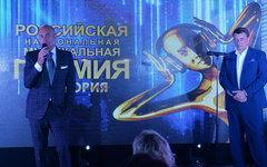 Соучредители РНМП Игорь Крутой и Юрий Костин