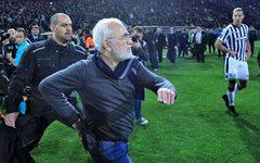Инцидент в Греции. Фото с сайта twitter.com/protagongr