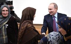 Владмир Путин в Дагестане. Фото с сайта kremlin.ru