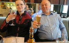 Сергей Скрипаль и его дочь Юлия. Фото из соцсетей