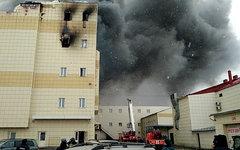 Пожар в Кемерове © РИА Новости Александр Кряжев