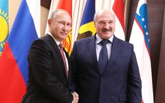 Владимир Путин и Александр Лукашенко. Фото с сайта kremlin.ru