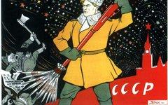Карикатура Виктора Дени, Фото с сайта davno.ru