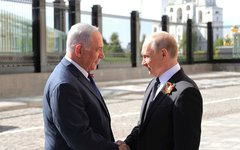 Владимир Путин и Биньямин Нетаньяху. Фото с сайта kremlin.ru