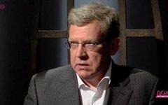 Алексей Кудрин. Стоп-кадр из телепередачи