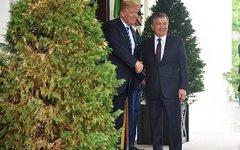 Встреча Дональда Трампа с Шавкатом Мирзиеевым. Фото с сайта whitehouse.gov