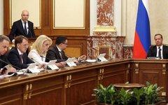 Заседание правительства РФ. Фото с сайта government.ru