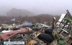 Крушение над Донбассом. Стоп-кадр с видео