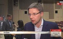 Нил Ушаков. Стоп-кадр из телепередачи