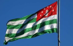 Флаг Абхазии. Стоп-кадр с tvc.ru