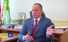 Александр Шестун. Стоп-кадр с видео