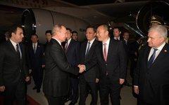 Прибытие в Циндао. Фото с сайта kremlin.ru