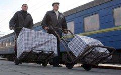 Украинские гастарбайтеры. Стоп-кадр с видео
