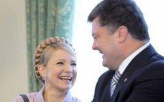 Юлия Тимршенко и Петр Порошенко. Фото с сайта news-front.info