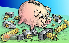 Российские банкиры «вложились» в украинскую экономику