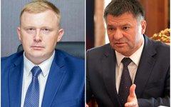Андрей Ищенко и Андрей Тарасенко