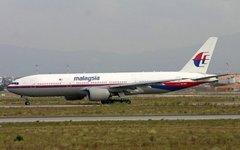 Разбившийся самолет до катастрофы