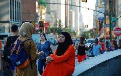 Мусульманка в США