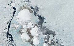 Снимок Северной Земли со спутника