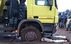 Росгвардия блокировала Шиес при подвозе топлива для мусорного полигона