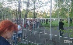 В Екатеринбурге прошли беспорядки на месте строительства храма Екатерины