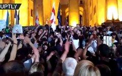 Протесты в Грузии - это поовокация