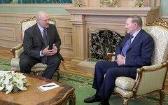 Встреча Александра Лукашенко и Леонида Кучмы