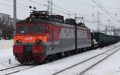 Товарный поезд © KM.RU, Алексей Белкин