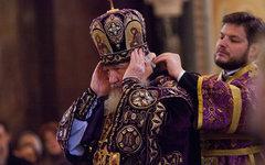 Божественная литургия в храме Христа Спасителя