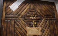 Дверь квартиры, в которой произошло убийство. Фото с сайта rusnovosti.ru