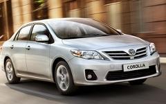 Toyota Corolla. Фото с сайта toyota.by
