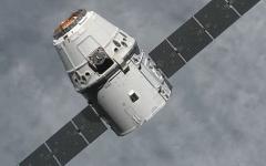 Космический корабль Dragon. Фото с сайта nasa.gov