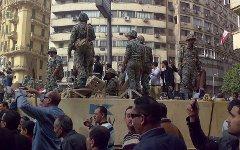 Демонстрация на площади Тахрир. Фото с сайта wikipedia.org