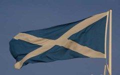 Флаг Шотландии. Фото с сайта freefoto.com