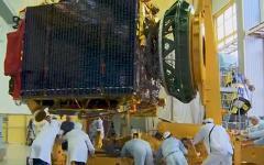 Спутник «Телком-3». Фото с сайта federalspace.ru