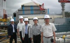 Строящаяся АЭС в поселке Ома. Фото с сайта aratou.jp