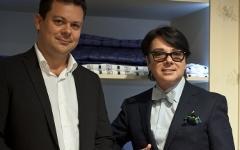 Андрей Круглов и Валентин Юдашкин. Фото предоставлено La Maison