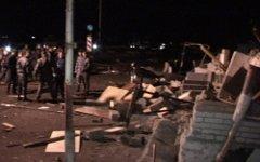 Последствия теракта. Фото с сайта 15.mvd.ru
