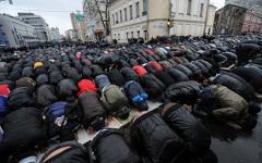 Празднование Курбан-байрама © РИА Новости, Владимир Астапкович