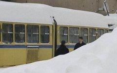 Снегопад в Чехии. Фото с сайта frackingfreeireland.org