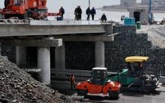 Строительство дороги в России © РИА Новости, Виталий Аньков