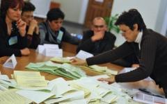 Подсчет голосов на Украине © РИА Новости, Алексей Куденко