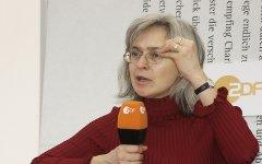 Анна Политковская. Фото с сайта wikipedia.org