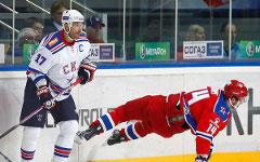 Матч ЦСКА-СКА. Фото с сайта cska-hockey.ru
